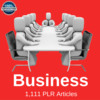 Thumbnail Business PLR Private label Rights Articles 2016