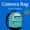 Thumbnail Camera Bag Private Label Rights PLR Articles