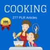 Thumbnail Cooking -High Quality PLR Private Label Articles on Tradebit