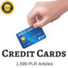 Thumbnail Credit Cards - Private Label Rights PLR Articles on Tradebit