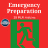 Thumbnail Emergency Preparation - PLR Private Label Rights Articles