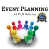 Thumbnail Event Planning - PLR Private Label Rights Articles