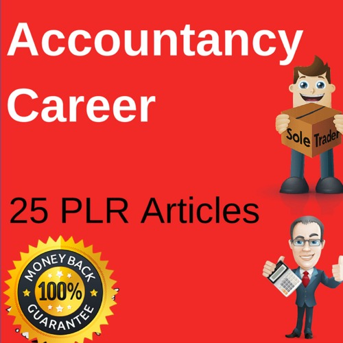 Product picture Accountancy Career 25 PLR Articles