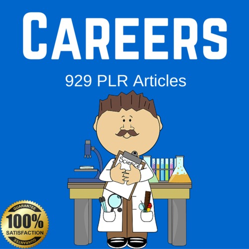 Product picture Career - High Quality PLR Private Label Articles