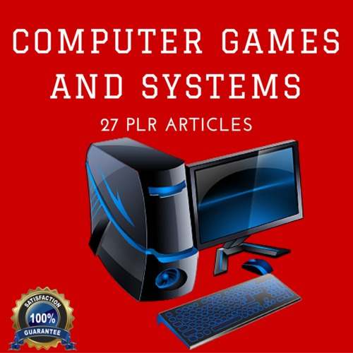 Product picture Computer Game and Systems- Quality Articles PLR