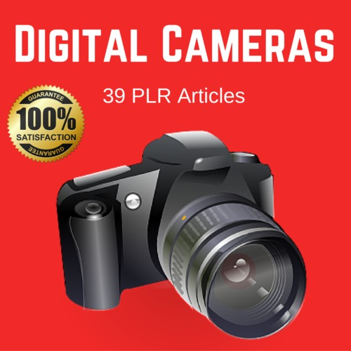 Product picture Digital Cameras - Private Label PLR Articles on Tradebit