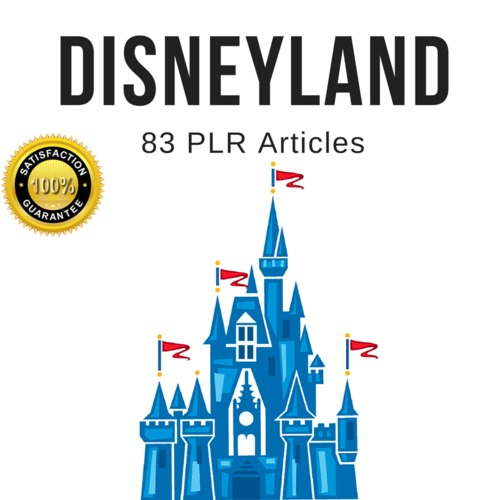 Product picture DisneyLand - PLR Private Label Rights High Quality Articles