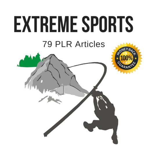 Product picture Extreme Sports - Quality PLR Private Label Rights Articles