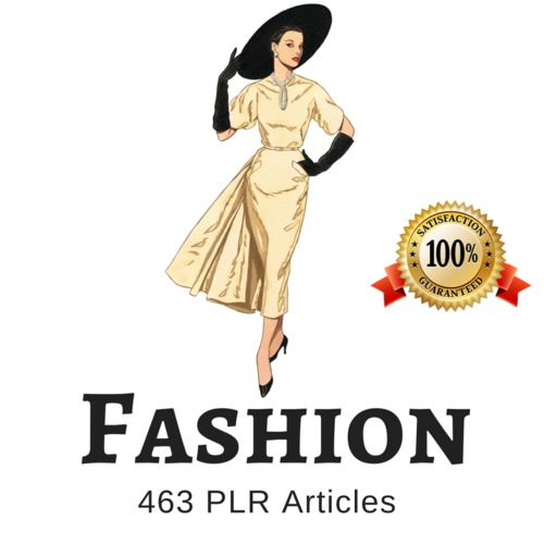 Product picture Fashion - PLR Private Label Rights Articles