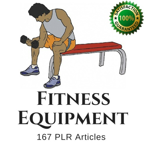 Product picture Fitness Equipment  PLR Private Label Rights Articles