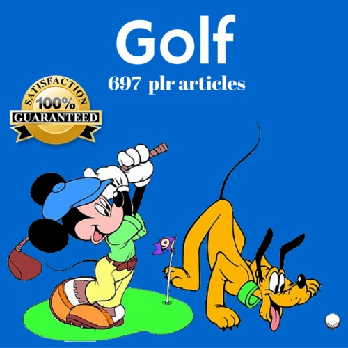 Product picture Golf - PLR MRR Private Label Rights Articles