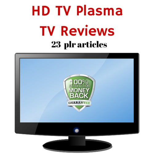 Product picture HD TVs - PLR MRR Private label rights Articles