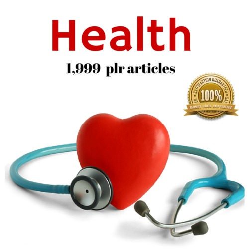 Product picture Health - PLR MRR Private Label Rights Articles