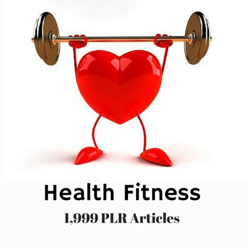 Product picture Health and Fitness - PLR MRR Private label Rights Articles
