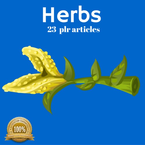 Product picture Herbs - PLR MRR Private Label Rights Articles