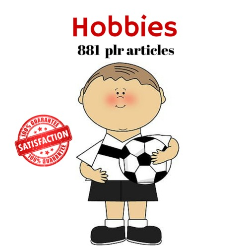 Product picture Hobbies - PLR MRR Private Label Rights Articles