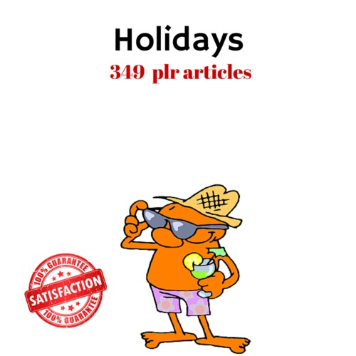 Product picture Holidays - PLR MRR High Quality Private Label Right Articles