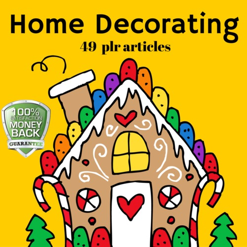 Product picture Home Decorating - PLR MRR Private Label Rights Articles
